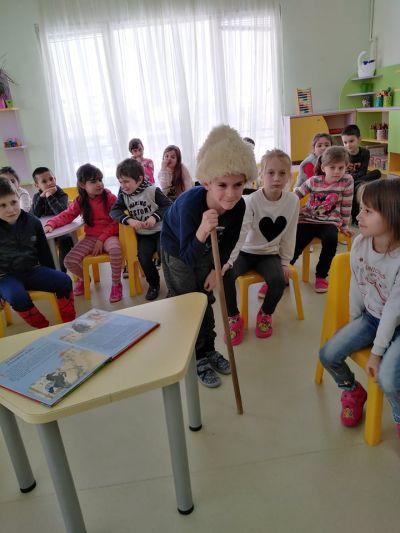 """група """"Гъбка"""" - седмица на книгата - ДГ №108 Детско царство - София"""