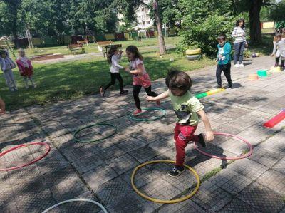 Спортен празник, 2021 г - филиал - ДГ №108 Детско царство - София